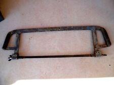 old tool, OUTIL ANCIEN, grande scie à métaux de cheminot  / COUPE RAIL / train