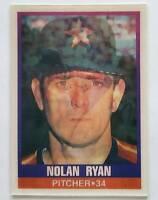 Nolan Ryan Sportflics 1989 MLB Trading Card #115 Houston Astros