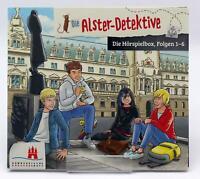 Die Alster-Detektive, Die Hörspielbox Folgen 1-6 | MP3-CD | Neu New
