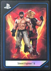 PlayStation Experience PSX 2016 Street Fighter V #054 Near Mint Card!