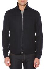 Original Penguin Zip Front Men's Jacket Dark Blue 12057 Size LG