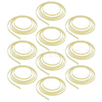 10 pcs 1650 x  6 x 1.5mm Celluloid Guitar Binding Cream Twill Strip Pattern