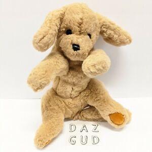 Vintage Gund Plush Muttsy Brown Tan Puppy Dog Golden Retriever FREE SHIPPING