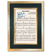 Panic at the Disco High Hopes Signed Music Sheet Album Autograph Print #802