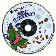 BABY GENIUS THE FOUR SEASONS JOIN DJ THE DINOSAUR & ABOE THE MONKEY (disc only)