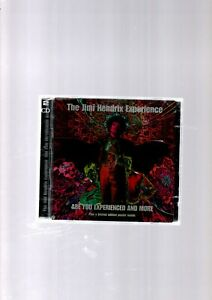 THE JIMI HENDRIX EXPERIENCE ARE YOU EXPERIENCED AND MORE 2 CD SET NEW SEALED
