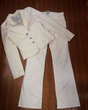 Women's Cotton Pant Suits & Blazers