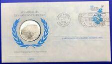 Médaille Argent massif des nations du Monde - LIBAN