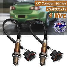 2Pcs O2 Oxygen Sensor 4 Wire For Holden Commodore V6 3.6L VZ VE LE0 #0258006743