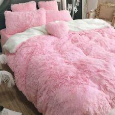 Long Shaggy Blanket Cozy Fluffy Faux Fur Sheet Super Soft Throw Bedding 1.6*2M