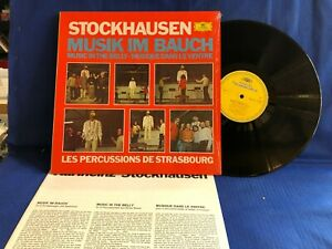 STOCKHAUSEN MUSIK IN BAUCH ORIG GERMANY LP MINT