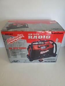 Milwaukee Rockford Fosgate 49-24-0020 Heavy Duty Job Site Radio NIB RARE