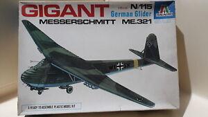 1/72 scale Italeri 721 (Italaerei) Messerschmitt ME.321 Gigant glider