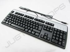 New Genuine HP Swiss Schweiz Svizra Desktop USB Keyboard Clavier 434821-117