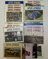 Lot of 30 Vintage 1980s ANTIQUE AUTOMOBILE Club Magazines Classic Cars 1985-89