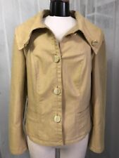 d5d22958 Escada Women's Coat Maze 4 Button Stretch Jacket Coat Size 44 / 14