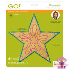Accuquilt GO! Fabric Cutting Die Star 5 Point by Sarah Vedeler Quilting 55310