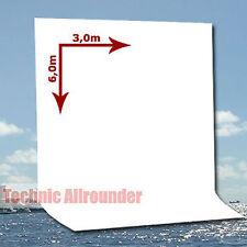 METTLE Hintergrund  3x6 m,weiss Stoffhintergrund Photo Backdrop für Foto-Studio