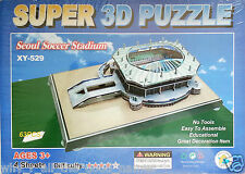 63 Pieces XY-529 Super 3D Puzzle SEOUL SOCCER STADIUM - No Tools Easy To Make