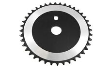 "OLD SCHOOL BMX OPC CHAINRING 40 TEETH 1/8""  FOR ONE PIECE CRANK BLACK   THIS WIL"