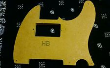 Telecaster Humbucker Pickguard routing template