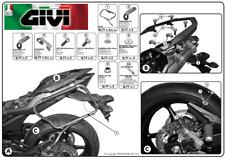 Portaequipaje lateral eliminación rápida MONOKEY yamaha xj6 2009 PLXR364 GIVI