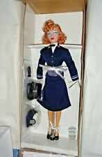 "Beautiful Gene Navy Coast Guard 16"" Doll-New In Box,Coa,Shipper-Coca Cola"