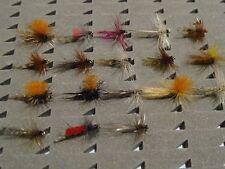 18 tricopteros pluma de León. Con muerte. Pesca a mosca. FLY FISHING (51)