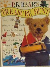 P B BEARS TREASURE HUNT EARLY READERS LARGE HARDBACK BOOK BY DORLING KINDERSLEY