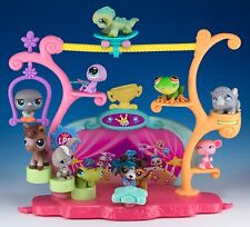 Littlest Pet Shop Tricks and Talent Show Playset With #237 Collie Dog + 9 Others