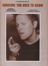 Someone You Used To Know - Collin Raye - 1999 Sheet Music