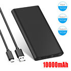 10000mah Backup External Battery USB Power Bank Pack Charger for Cell Phone USA