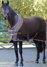 """Weatherbeeta Fleece Cooler Standard Neck Horse Blanket Charcoal Blue 66"""" 5'6"""""""