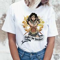 Wonder Woman t shirt ulzzang tee shirt t-shirt harajuku tshirt women cartoon