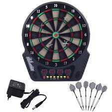 Cible de fléchettes électrique Écran LCD 27 jeux 243 variations 1-16 joueur