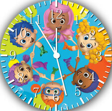 Bubble Guppies Frameless Borderless Wall Clock Nice For Gifts or Decor E263