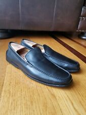 Tod's Men's Black Leather Casual Driving Loafers Moccasins Size US 11, 10 UK