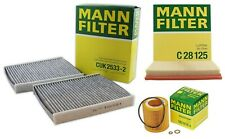 NEW Mann Oil Air Carbon Two Cabin Filters Service Kit for BMW F01 F02 F07 3.0 L6