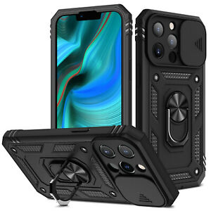 For iPhone 13 12 11 Pro Max X XS XR 8 7 Plus Case Armor Rugged Kickstand Cover