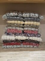 BIG! BUNDLE KNITTING CROCHET WOOL/YARN BALLS 1000g RANDOM MIXED NO LABELS