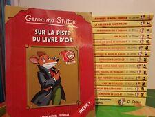 lots 17 livres Géronimo Stilton