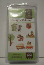 CRICUT CAMPIN' CRITTERS CARTRIDGE *NEW* FOREST ANIMALS *DAMAGED BOX & CLAMSHELL*