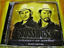 THE BOSSHOSS - LIBERTRY OF ACTION | BLACK EDITION + DON'T GIMME THAT | NEU & OVP
