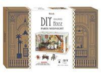 Robotime DIY Miniature House PARIS MIDNIGHT 3D Wooden Model Kit NEW