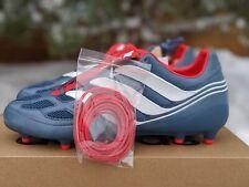 adidas Predator Precision FG Blue Grey Collegiate Red CM7911 Size 10 US