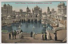 Franco British Exhibition, London 1908 postcard - Court of Honour