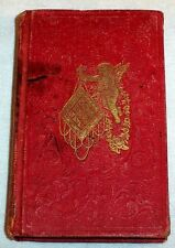 1850 Small GIFT BOOK  Friendship  Flowers  Patriotism  American Indian Girl etc.