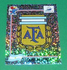 N°499 ARGENTINA BADGE ECUSSON PANINI FOOTBALL FRANCE 98 1998 COUPE MONDE WM