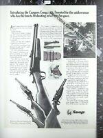 2 ADS 1972 Savage model 24-V 24-D Camper Companion rifle Sheridan air pellet BB