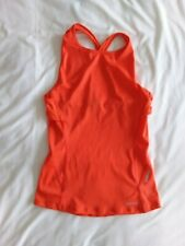 Skins Ladies DNAmic Primary Tank Top - BNWT - Size Small - Coral Red